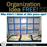 """Organization Idea FREE!: """"Why Didn't I Think of This Years Ago?"""" Board Notes"""