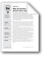 Why Do Beaches and Deserts Have Sand?