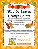 Why Do Leaves Change Color? Elementary Science Experiment