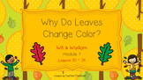 Why Do Leaves Change Color? (Wit & Wisdom, Module 1 Lesson