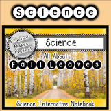 Fall Leaves Change Colors Science Interactive Notebook