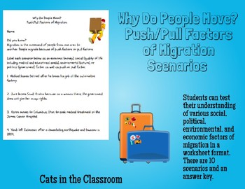 Why Do People Move? Push and Pull Factors of Migration Bundle