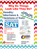 Why Do Things Look Like They Do? Heredity: NGSS MS LS3-1, 3-2(Editable)