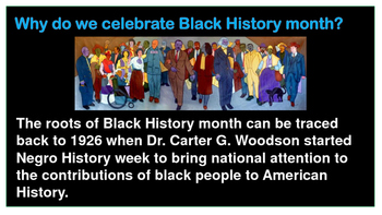 Why Do We Celebrate Black History Month