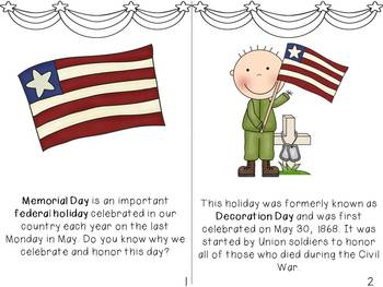 Memorial Day Informational Literacy Unit