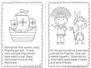 Why Do We Celebrate Thanksgiving?  Printable Book and Literacy Activities