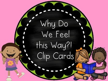 Why Do We Feel the Way We Do? Clip Cards