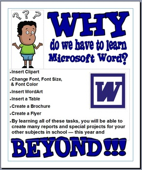 Why Do We Have To Learn Microsoft Word???