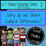 Why Do We Share Cultural Differences Lesson Plan and Infor