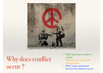 Why Does Conflict Occur?