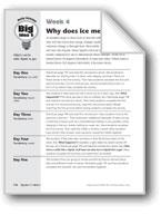 Why Does Ice Melt?