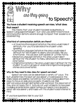 Why Are They Going To Speech?
