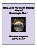 Why Does the Moon Change Shape Scavenger Hunt (4th grade W