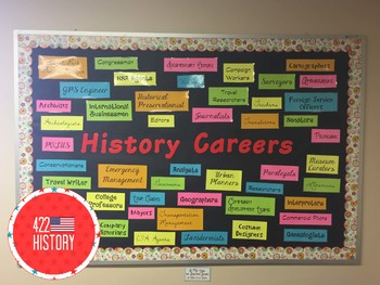 Why History Matters Career Bulletin Board Kit