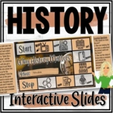 Why History Matters Interactive Google Slides (Distance Learning)