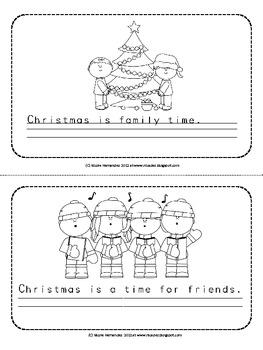 Christmas Writing Mini Book