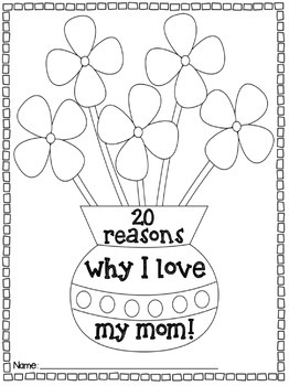 Why I Love My Mom {20 Reasons}