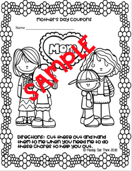 K, 1, 2, 3 Why I Love My Mother (Ebook with make and take coupon booklet)