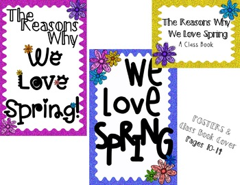 Why I Love Spring Writing Paper & Posters!