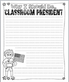 Class President Writing Paper | Mock Classroom Election