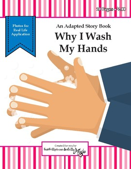 Why I Wash My Hands - Adapted Book