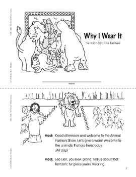 Why I Wear It (Leveled Readers' Theater, Grade 3)