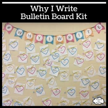 Why I Write Bulletin Board Kit