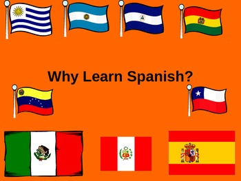 Why Learn Spanish Power Point ppt Importance of Speaking Spanish