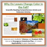 Why Leaves Change Color In The Fall - Reading Article - Grade 8 and Up