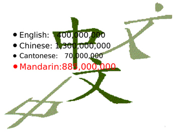 Why Mandarin?:An Introduction to Mandarin Language
