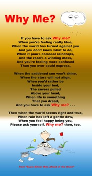 """""""Why Me"""" Poetry Poster"""
