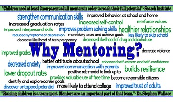 Why Mentoring? Poster