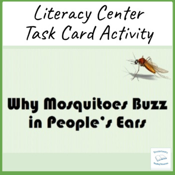 Why Mosquitoes Buzz In People's Ears Task Flash Sequence Literacy Cards