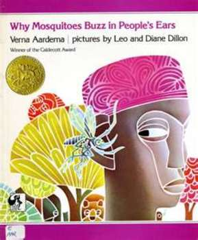 Why Mosquitoes Buzz, a powerpoint presentation, harcourt trophies