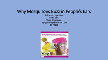 Why Mosquitoes Buzz in People's Ears...picture book liter