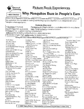 Why Mosquitoes Buzz in People's Ears Literature Guide
