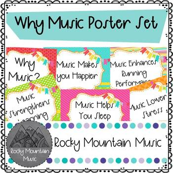 Why Music Poster Set