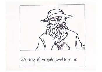 Why Odin Has One Eye (Beginner-Intermediate Level ESL Story, Norse Mythology)