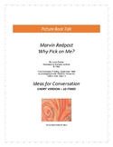 Why Pick On Me? Picture Book Talk