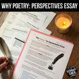 Why Poetry Essay Unit: Nonfiction Reading, Discussion, & Argument Writing