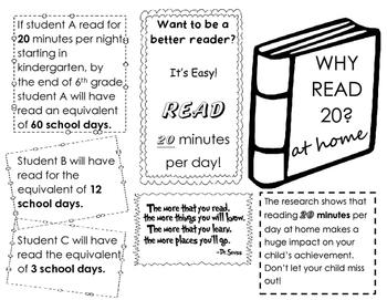 Reading Parent Brochure