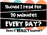 Why Should I Read for 30 Minutes Daily?