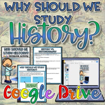 Why Should We Study History?  {Digital Version}