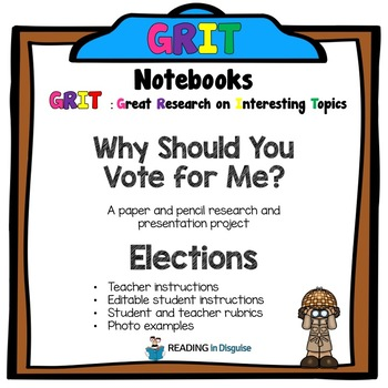Why Should You Vote for Me? PROBE Notebook