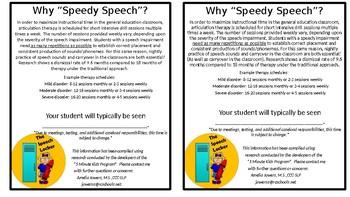 "Why ""Speedy Speech""?"