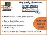 Why Study Chemistry in High School?  Teacher Guide Link