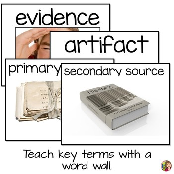 Why Study History? Includes Primary Sources - Elementary Version