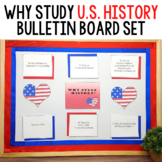 Why Study History Printable Bulletin Board Set: U.S. Edition