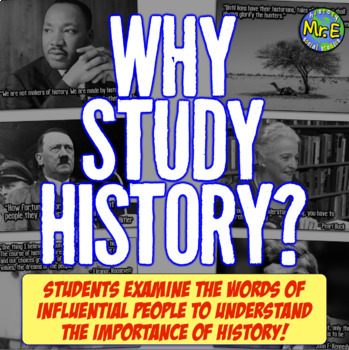 why people study history Plus if you read up on it yourself you can learn so much about fascinating people reasons to take an interest in history why it is important to study history.