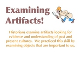 Why Study History? Examining Historical Artifacts